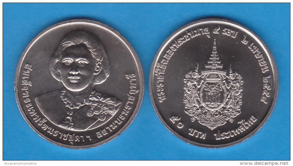 """TAILANDIA  /   THAILAND   50  BATH  2015   2.015 Cu Ni  """"60 Cumpleaños De La Princesa SIRINDHORN""""    T-DL-11.306 - Tailandia"""