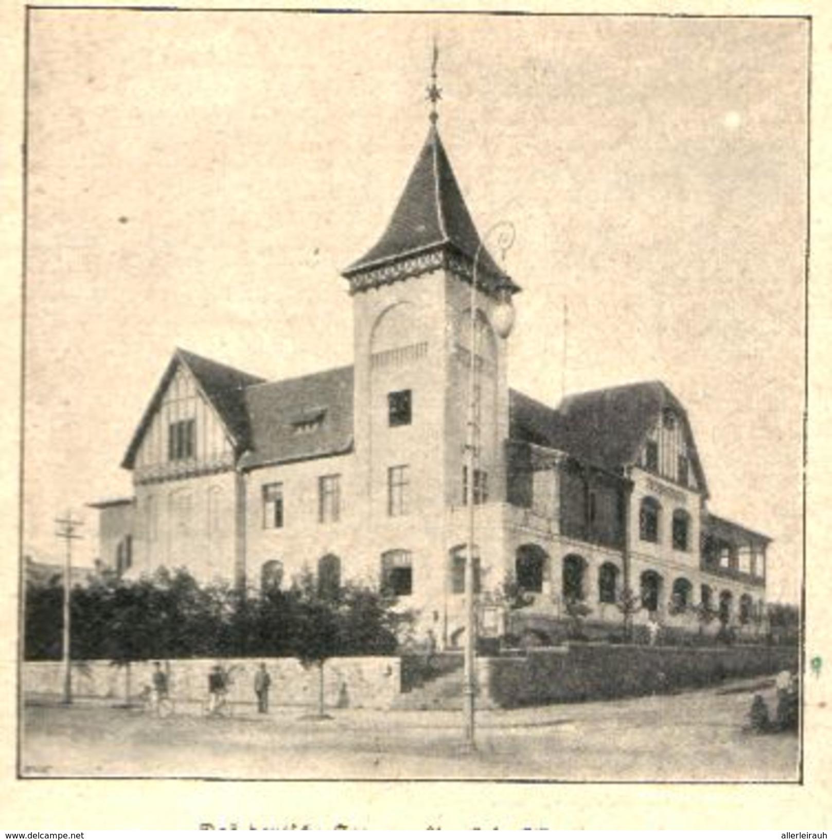 Das Deutsche Seemannshaus In Tsingtau / Druck, Entnommen Aus Kalender / 1909 - Bücher, Zeitschriften, Comics