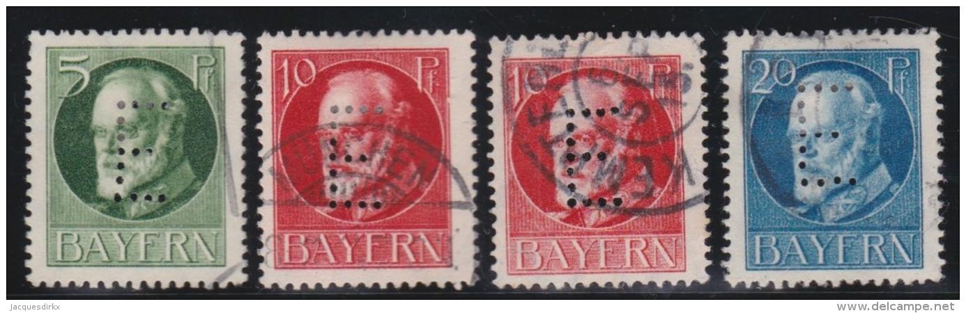 Bayern   .    Michel   .     Dienst    13/15       .       O        .     Gebraucht    .   /   .   Cancelled - Bayern