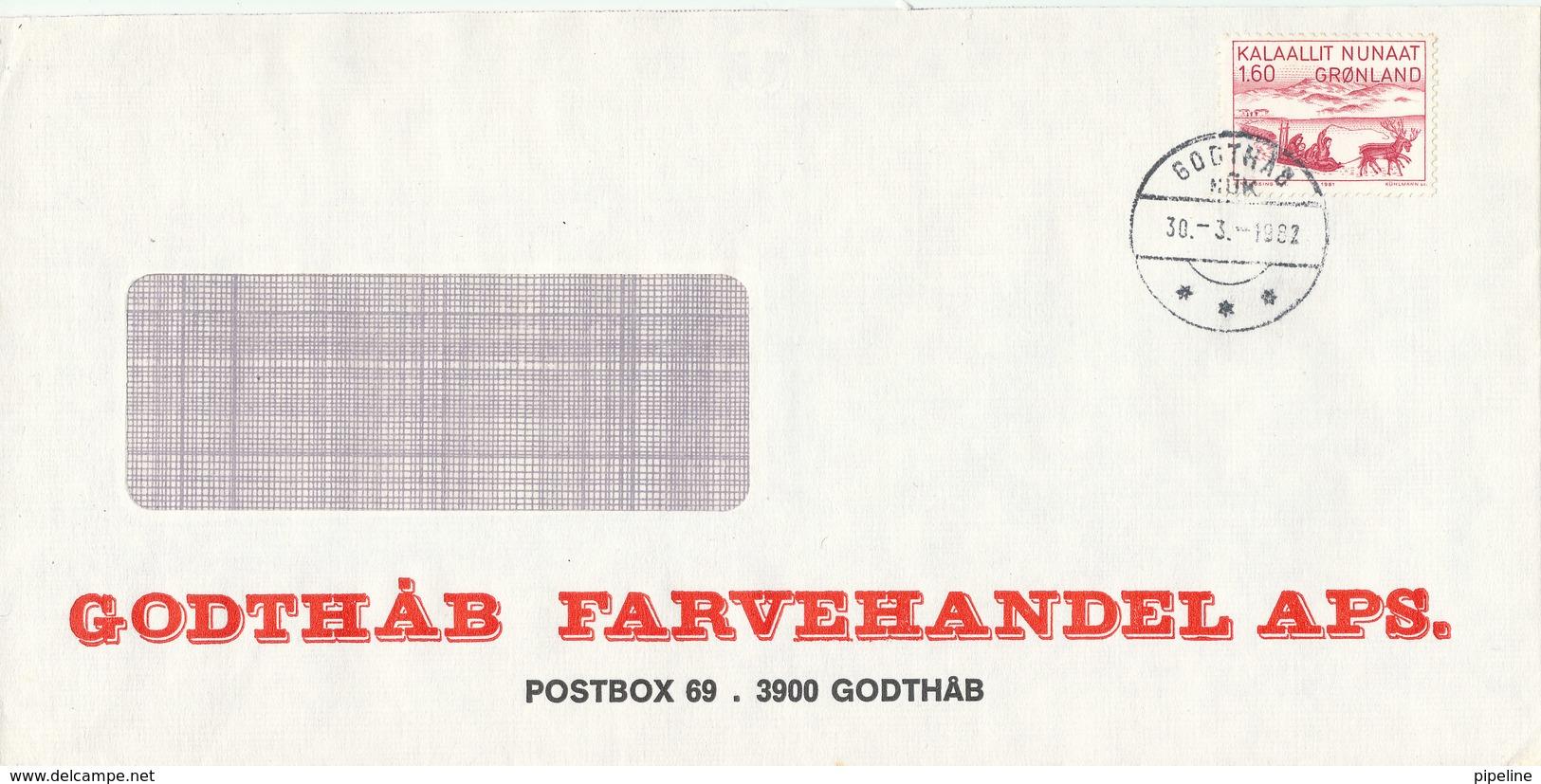 Greenland Cover Godthab 30-3-1982 - Non Classificati