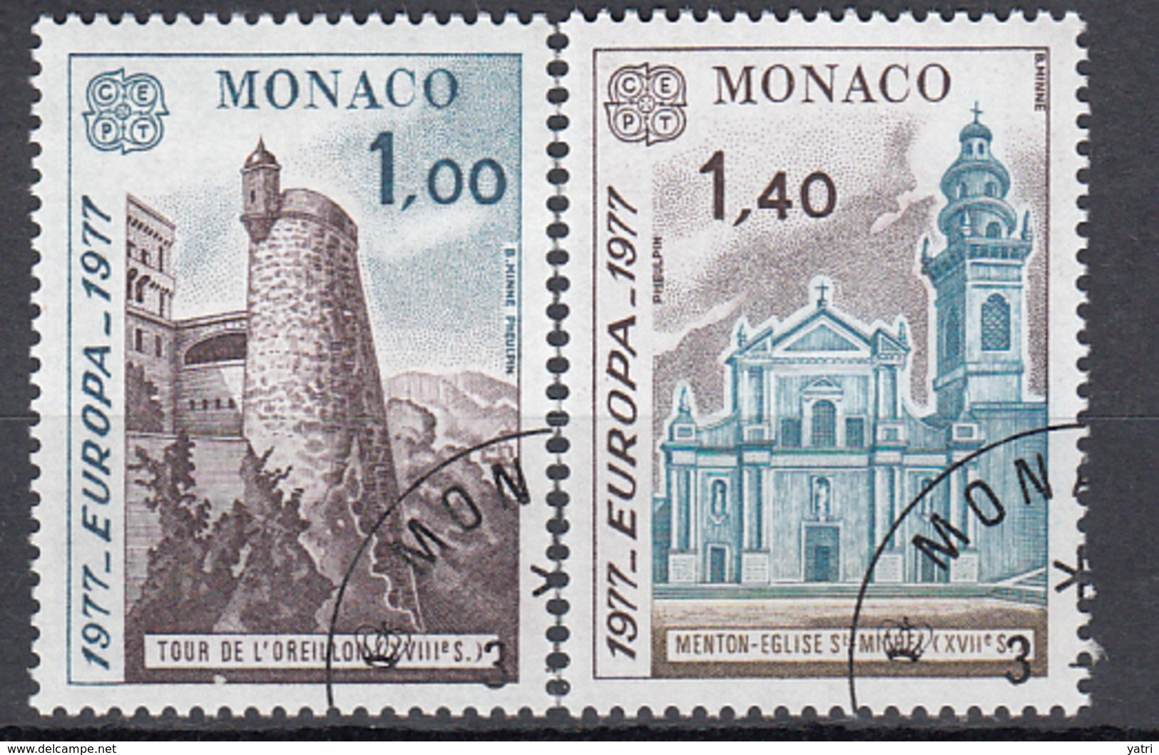 Europa Cept (1977) - Monaco (o) - Europa-CEPT