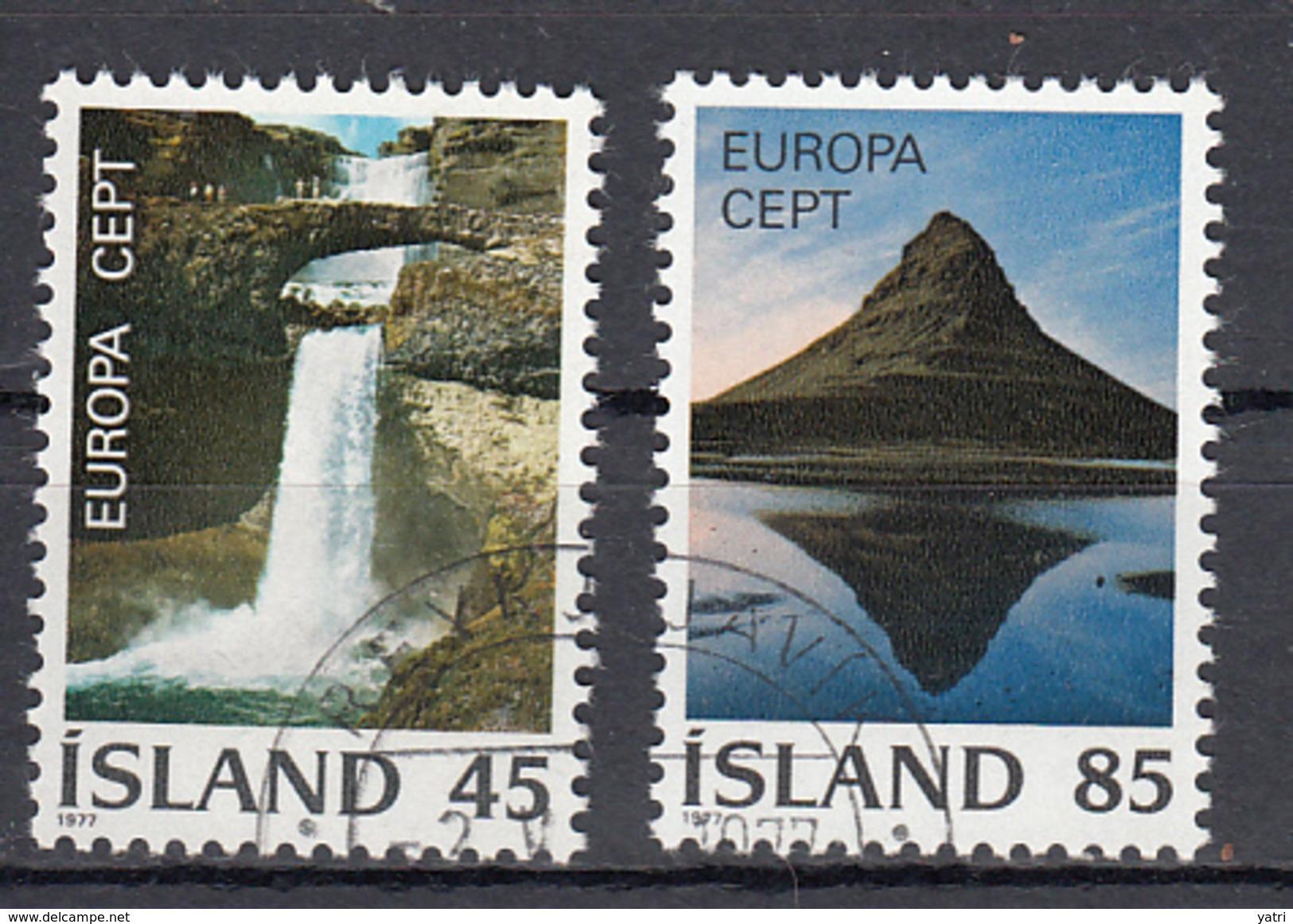 Europa Cept (1977) - Islanda  (o) - Europa-CEPT