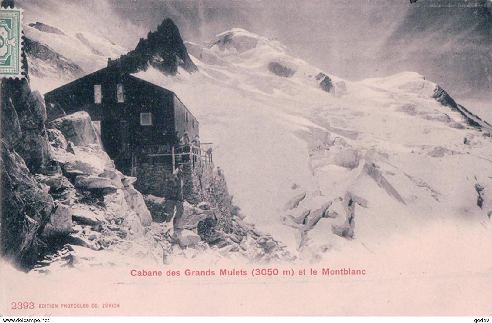 France 74,Chamonix-Mont-Blanc, Cabane Des Grands Mulets (2393) - Autres Communes