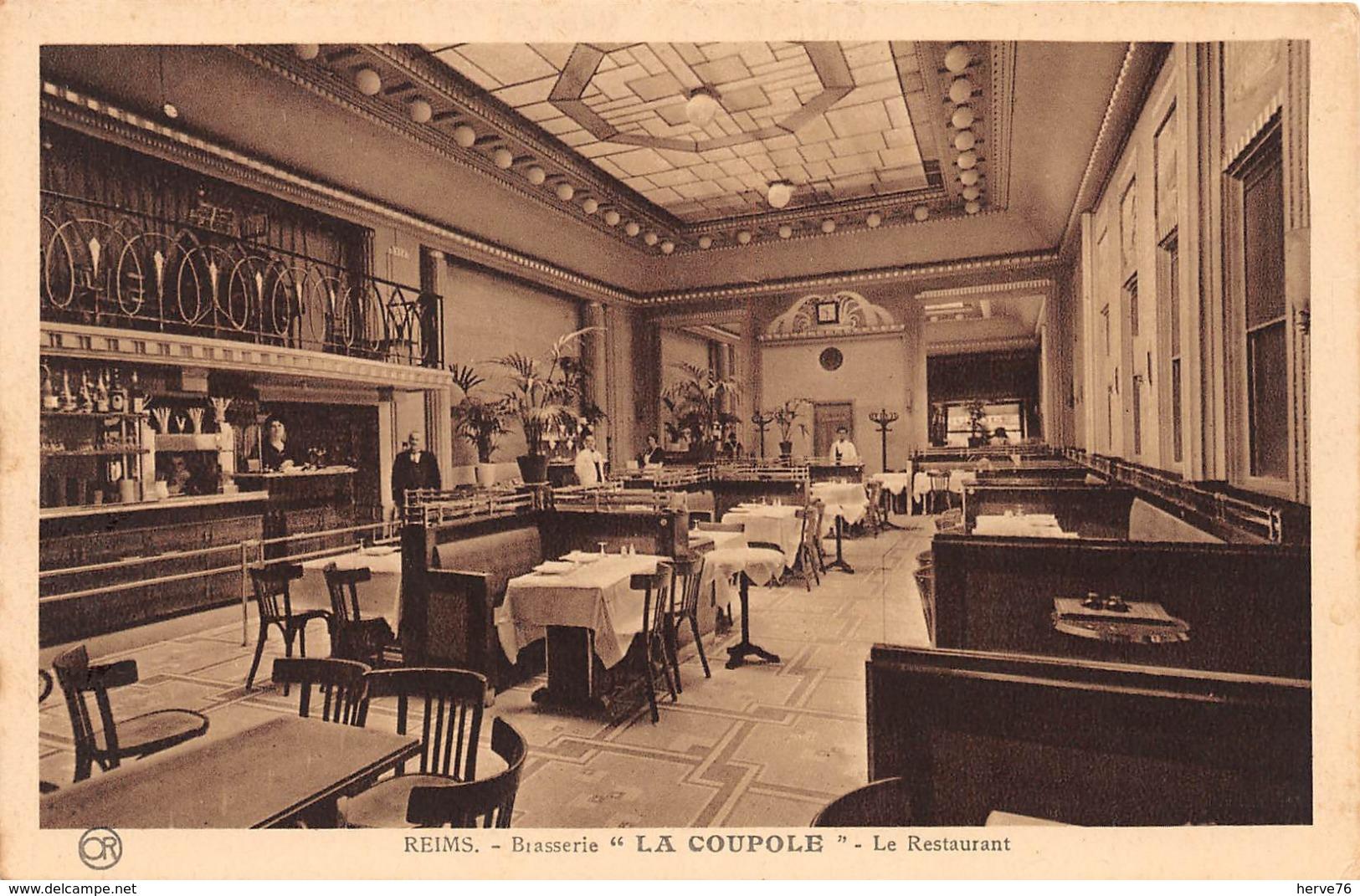 REIMS - Brasserie LA COUPOLE - Le Restaurant - Reims