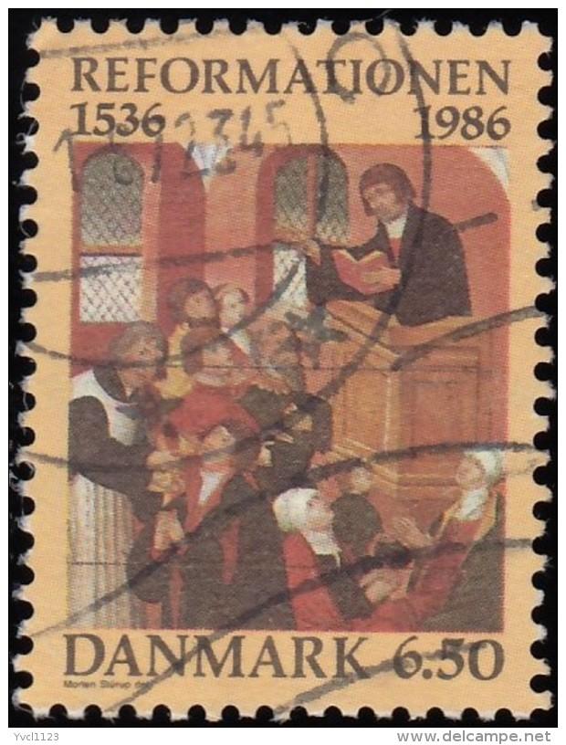 DENMARK - Scott #830 Thorstunde Cnurch, Coponhagen (*) / Used Stamp - Churches & Cathedrals