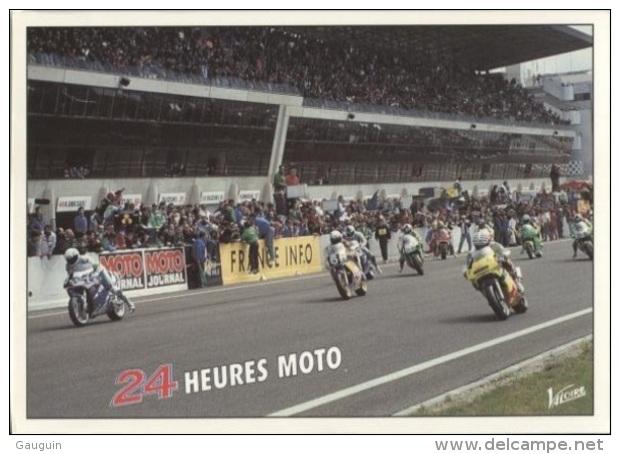 CPM - LE MANS - 24 HEURES MOTO - Edition Valoire - Motorcycle Sport