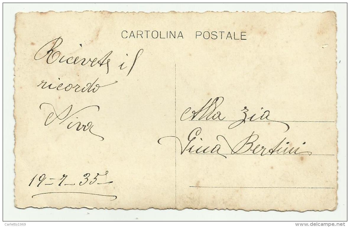 BAMBINA PRIMA COMUNIONE 1935 NV FP - Persone Anonimi