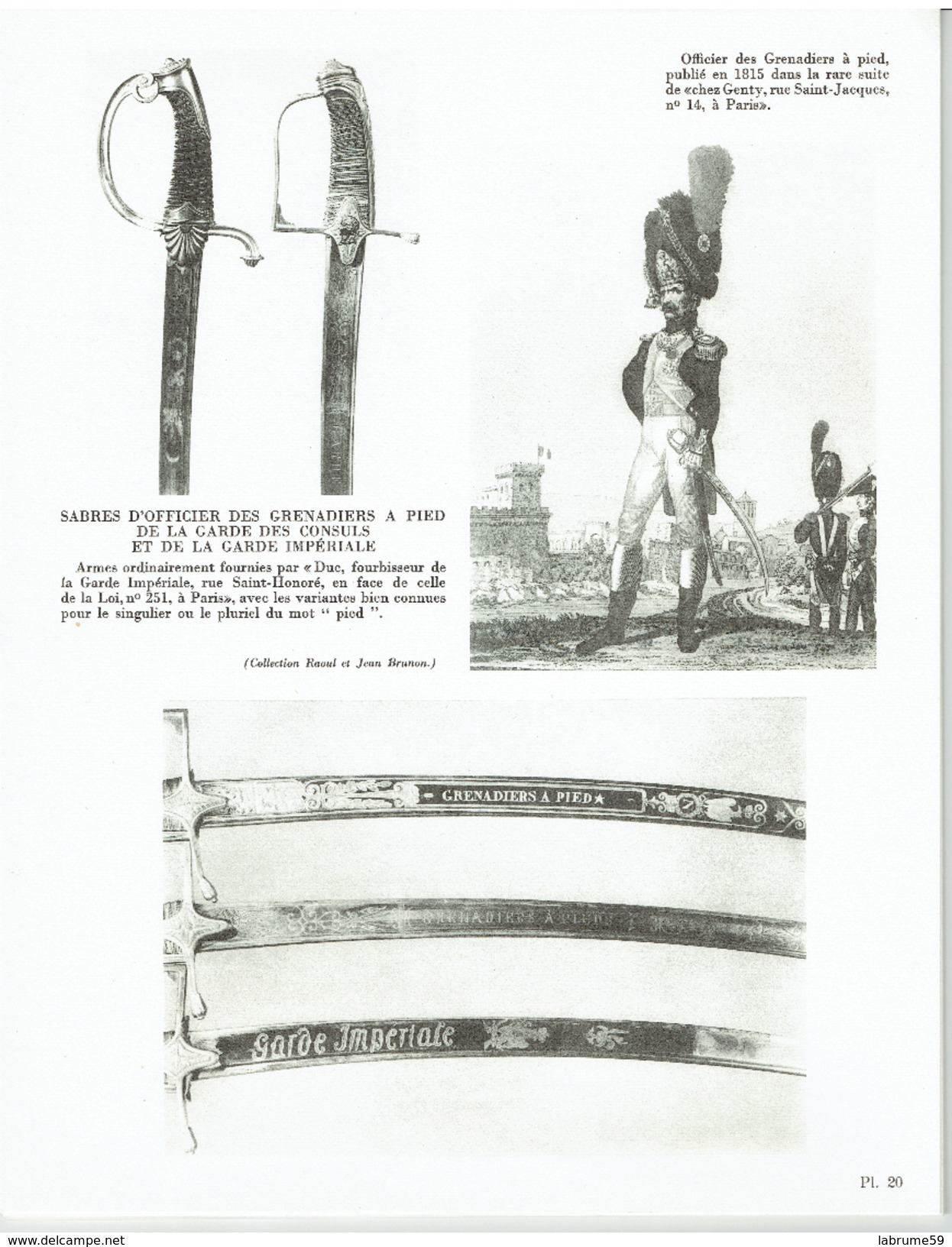 Grenadiers De Napoléon - Raoul Et Jean Brunon - Garde Impériale - Napoléon - Livres