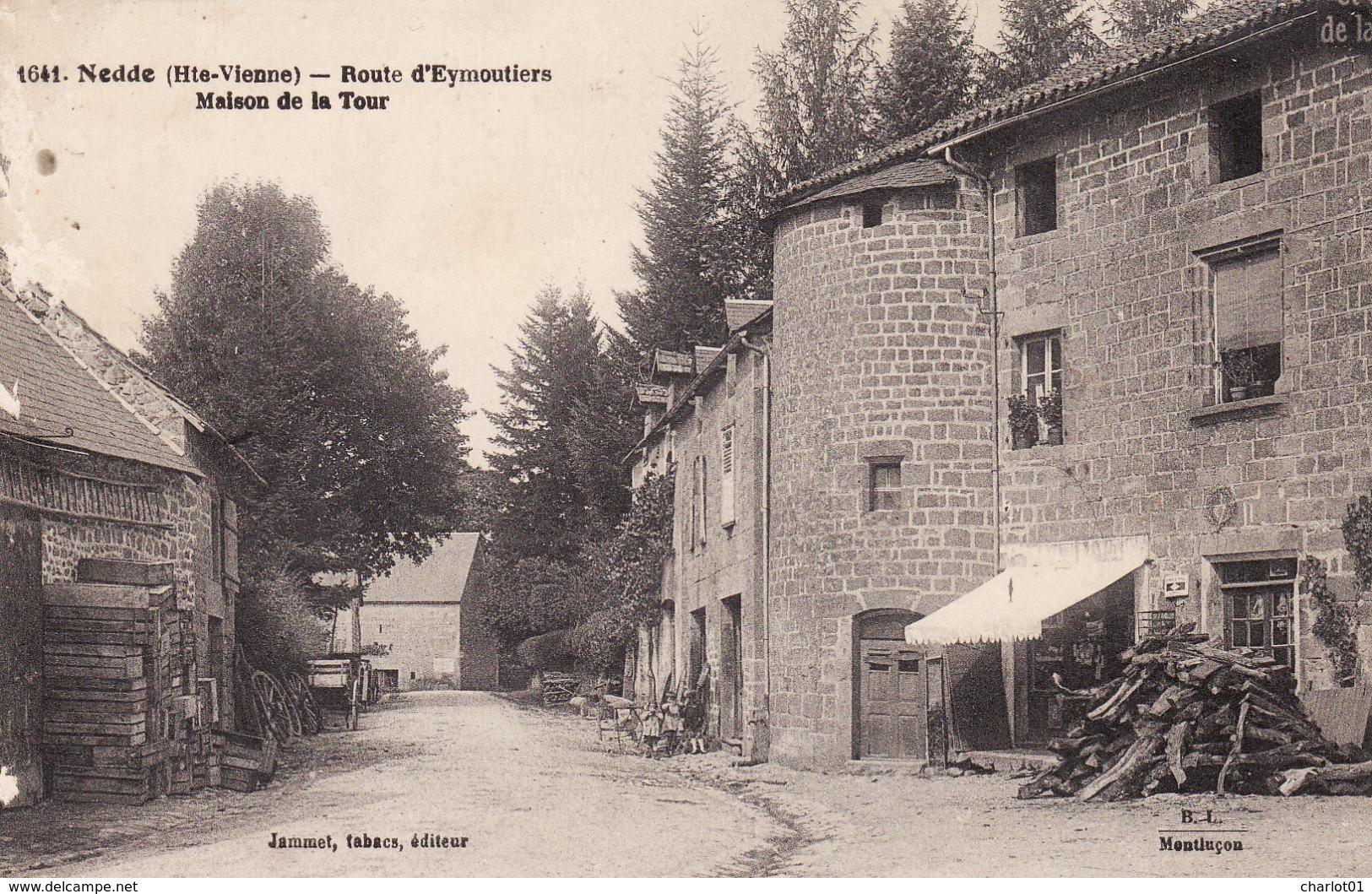 NEDDE Route D´Eymoutiers  Maison De La Tour  Correspondance De Negrémont - France