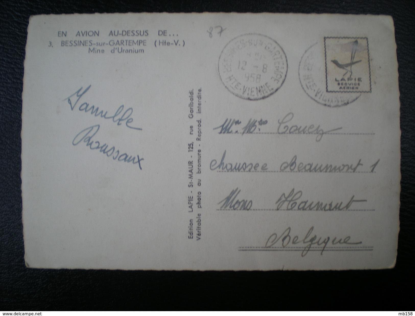 France > [87] Haute-Vienne > Bessines Sur Gartempe Mine D'Uranium - Bessines Sur Gartempe