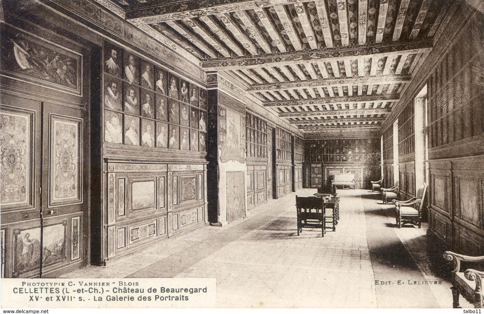 41 - Cellettes - Lot De 10 Cartes Sur Le Chateau De Beauregard - France