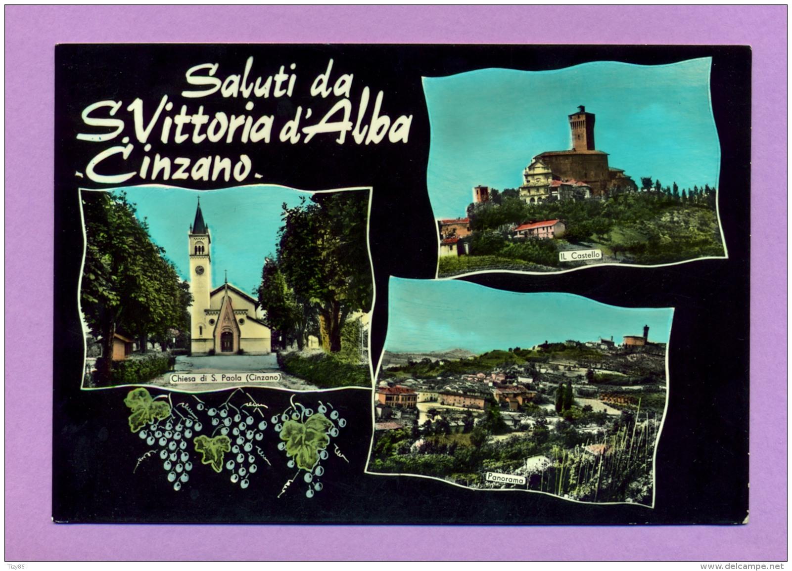Saluti Da S. Vittoria D'Alba - Cinzano - Cuneo