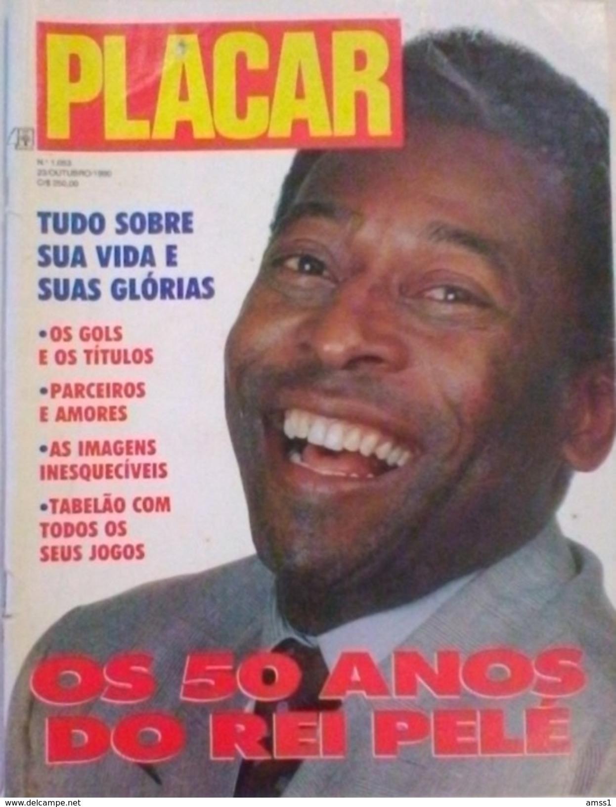 MAGAZINE PLACAR SUR PELÉ - Livres, BD, Revues