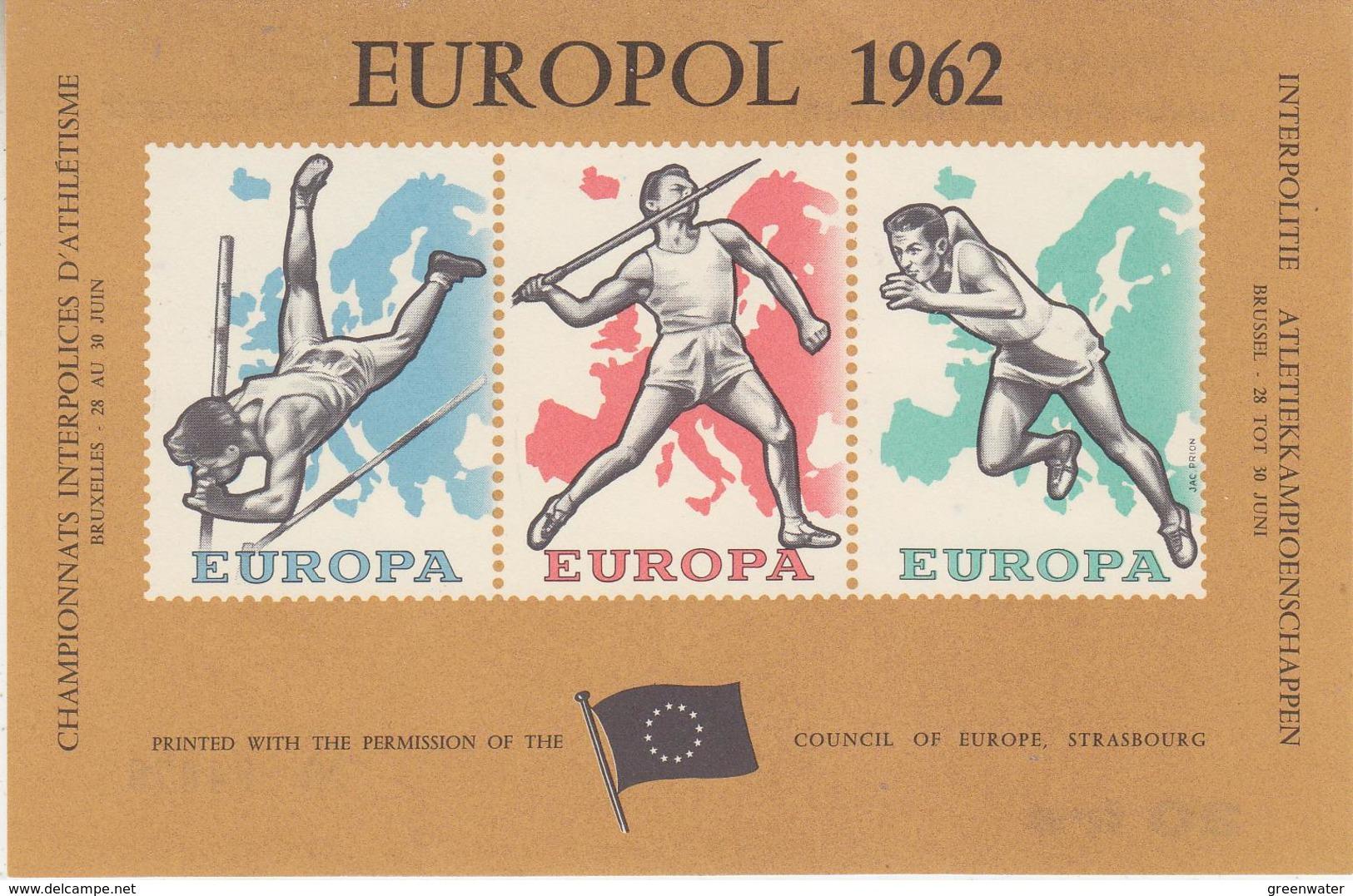 Belgie 1962 Europol Blok ** Mnh (34666) - Erinnophilie