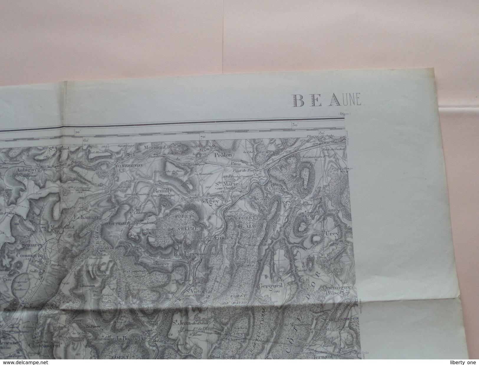 BEAUNE ( 125 ) Type 1889 Revisée En 1913 Tirage De 1941 ( Formaat 34 X 54 Cm. ) Zie Foto´s ! - Europe