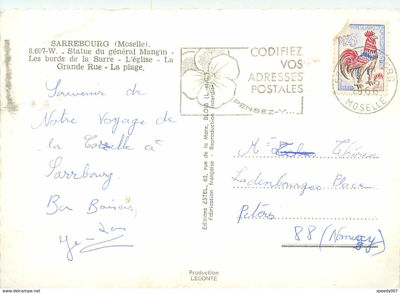 Sarrebourg   AN 647 - Sarrebourg
