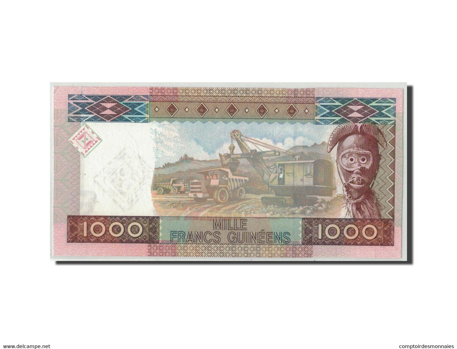 Guinea, 1000 Francs, 2010, KM:43, 2010-03-01, SPL - Guinée