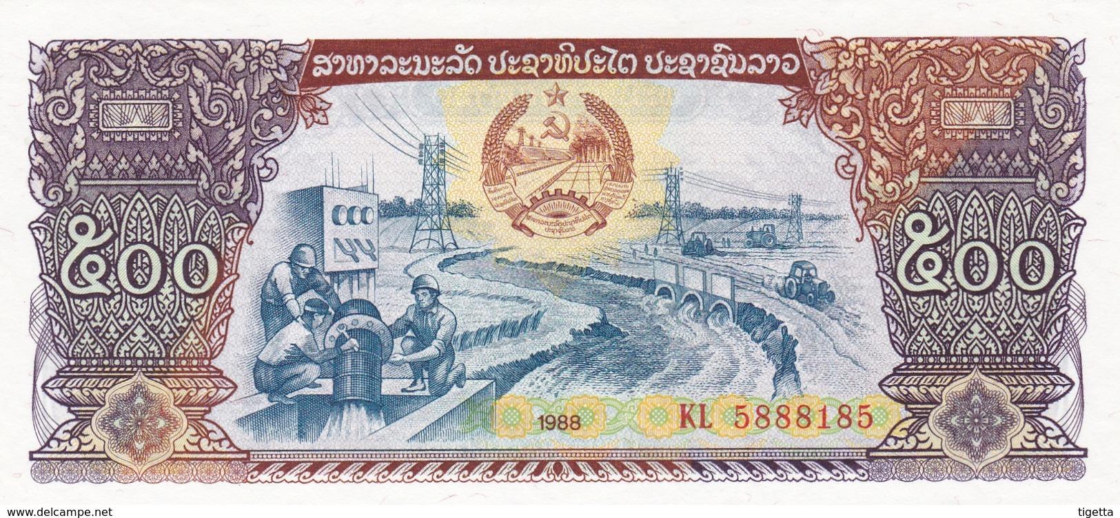 LAOS  500 KIP  1988    FDS - Laos