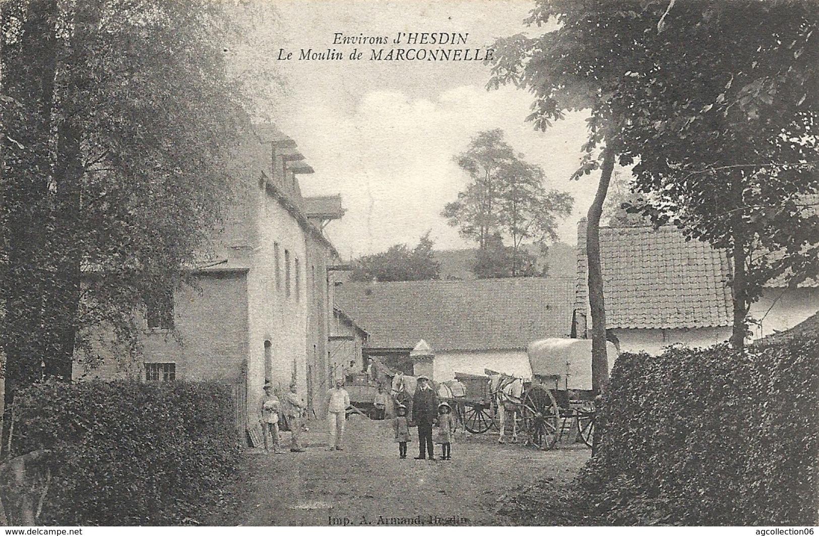MARCONNELLE. LE MOULIN - France