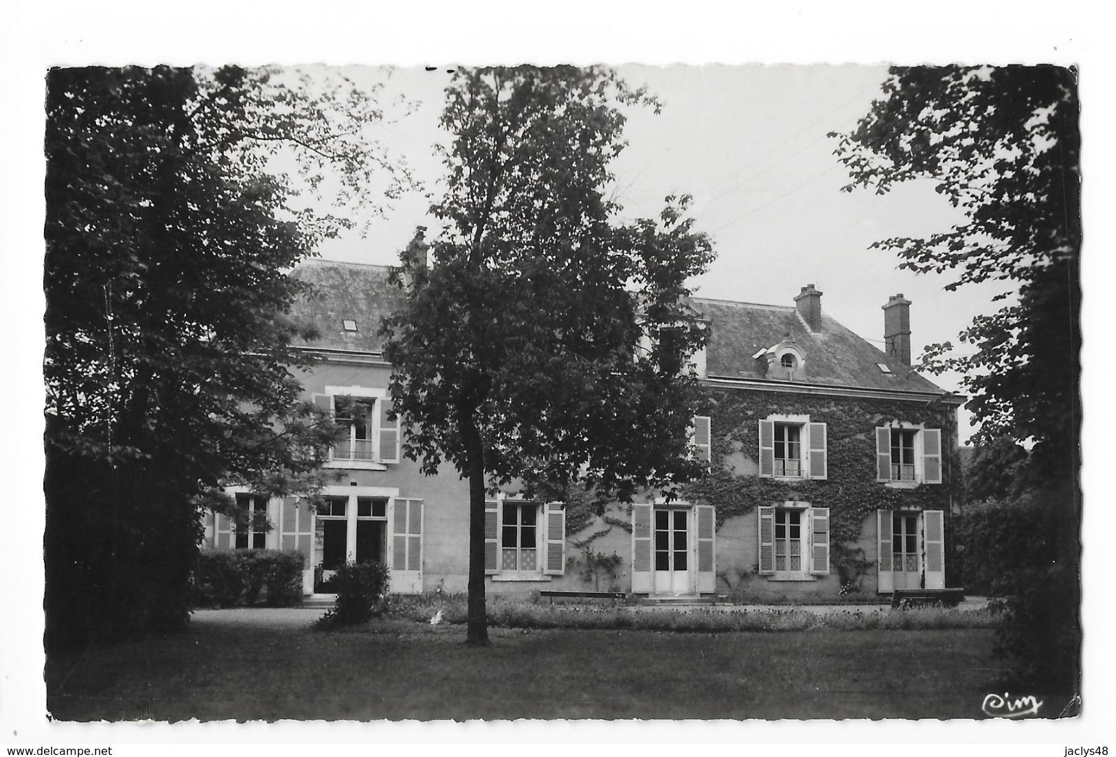 SAINT DYE Sur LOIRE  (cpsm 41)  Pension De Famille La Motte  -   - L 1 - France