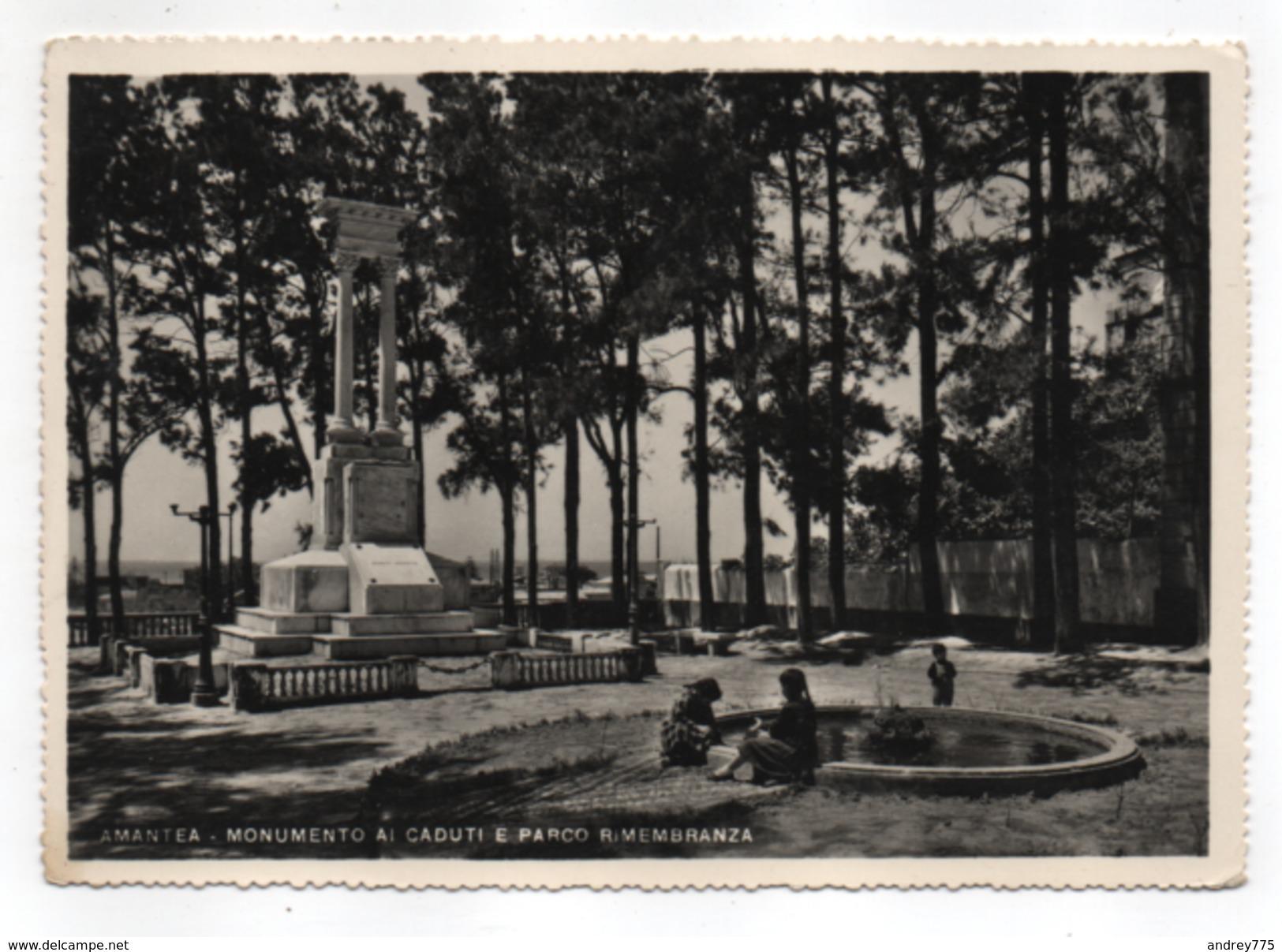 Amantea - Monumento Ai Caduti E Parco Rimembranza * - Cosenza