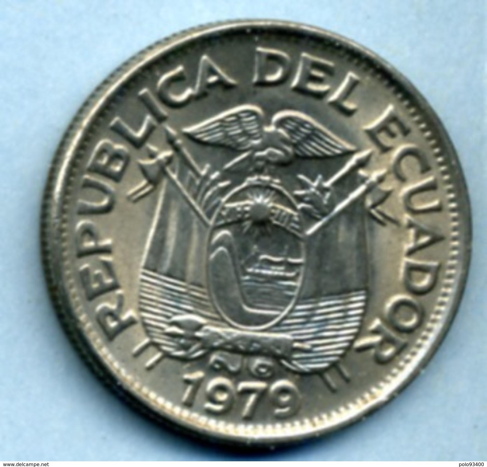 1979 1 SUCRE - Ecuador