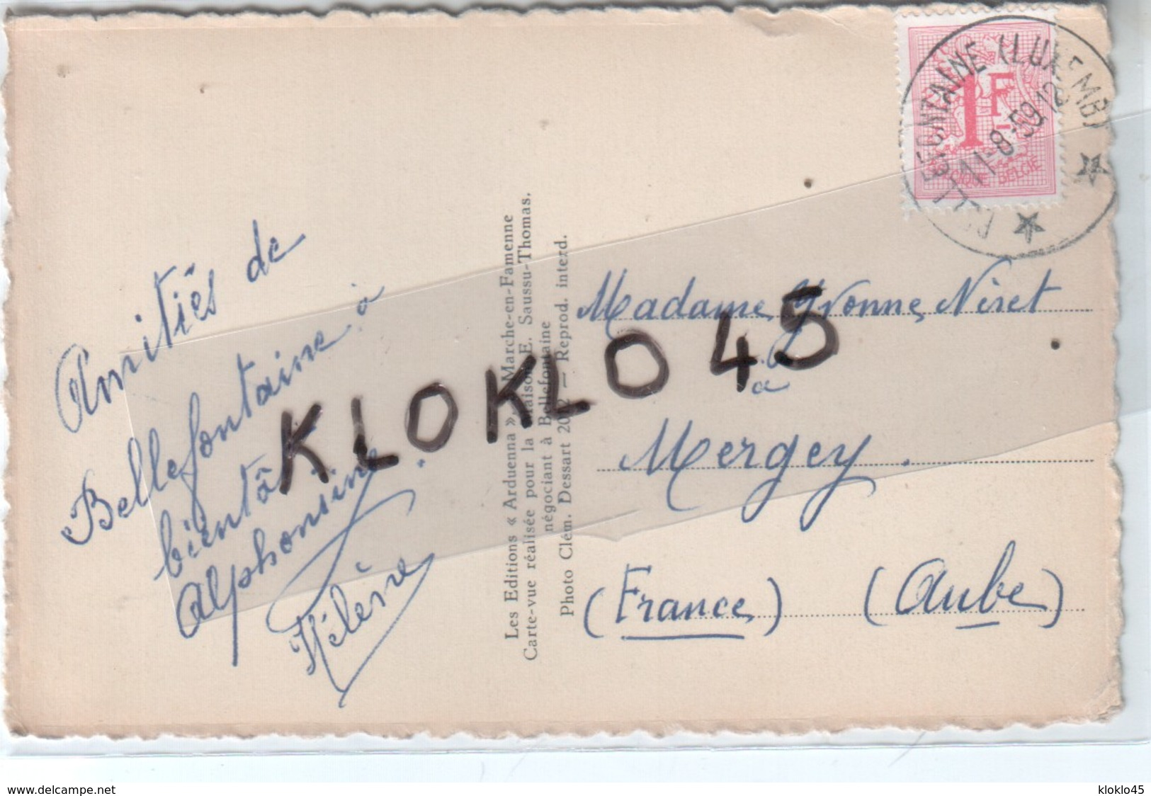 Luxembourg - Environs De Bellefontaine - L'Etang De La Soye - Cygnes Sur Le Cac  Entourré De Sapins - CPSM Glacée - Cartes Postales