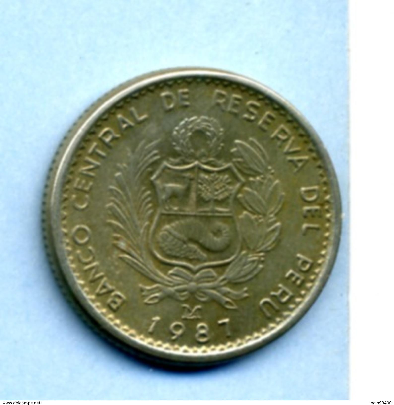 1987 1 INTI - Pérou