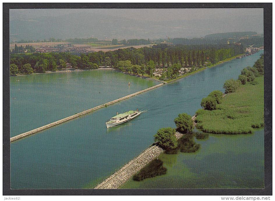 30359/ CANAL DE LA THIELE Et Bâteau *Ville D´Yverdon* - VD Vaud