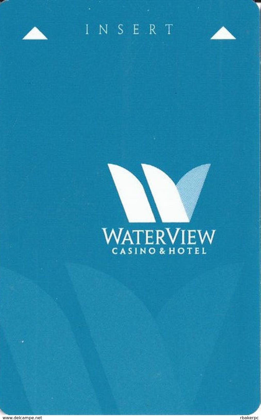 Waterview Casino & Hotel - Vicksburg, MS - Hotel Room Key Card - Hotel Keycards