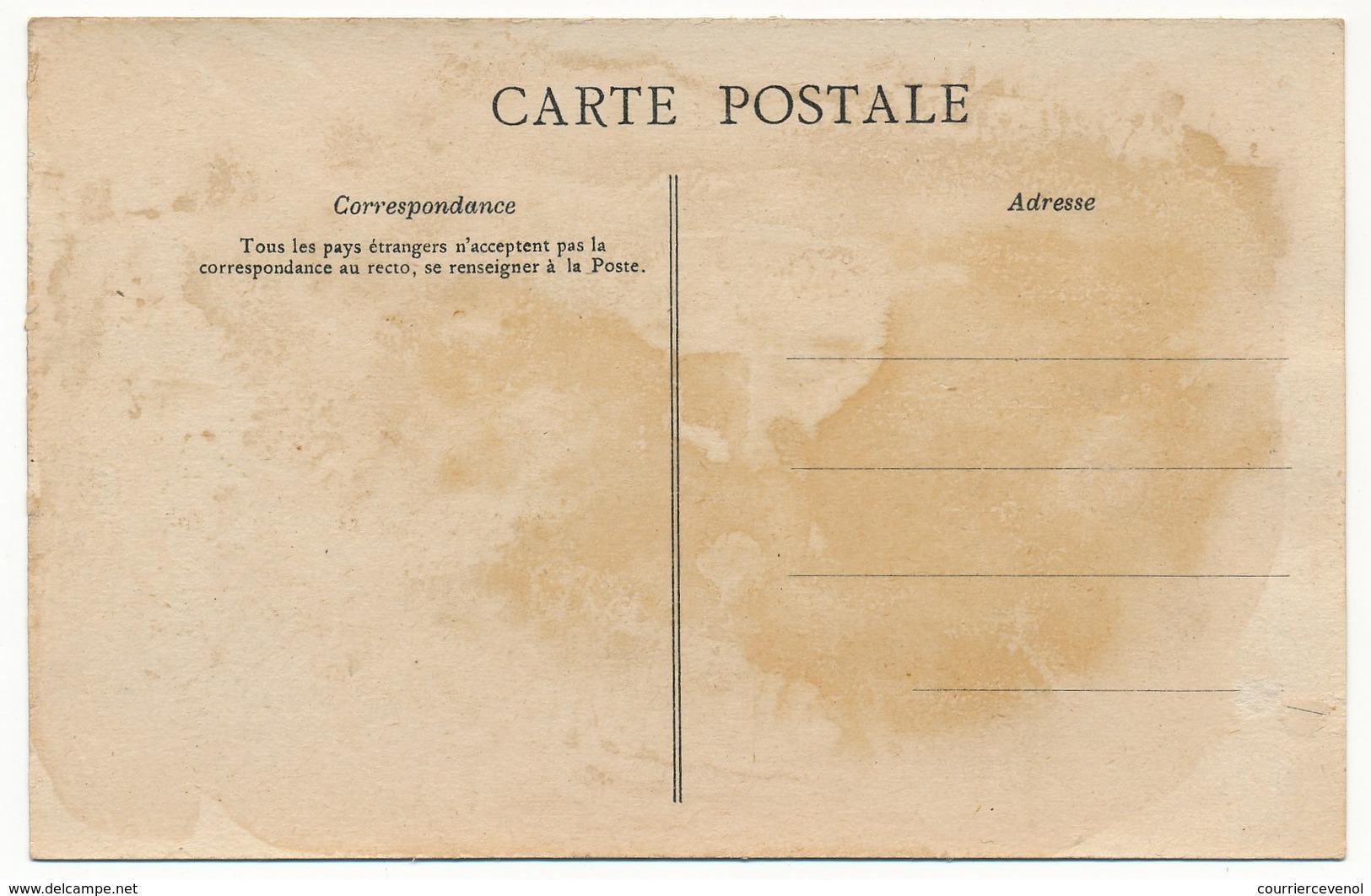 CPA - Carte Du Département De L'Yonne - Edition De La Chocolaterie Aiguebelle. - France