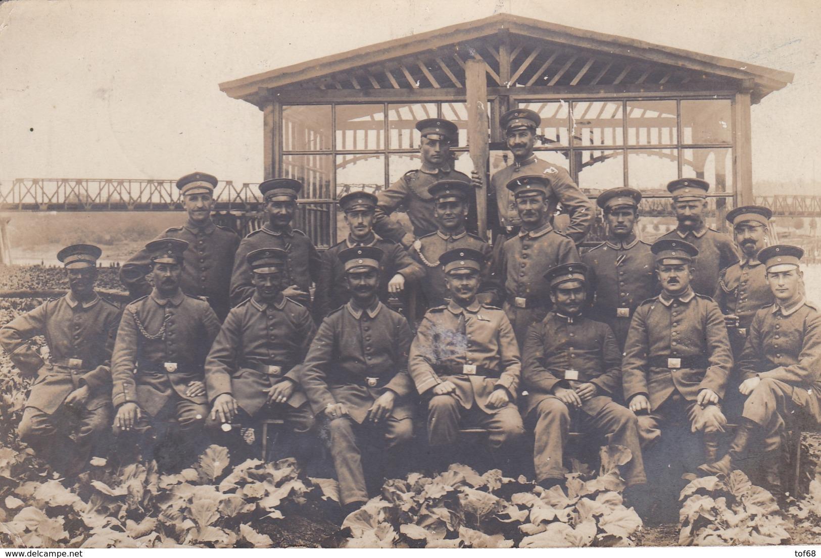 Carte Photo Foto AK 1916 Feldpoststation 209 ( Kowno ) - Litauen