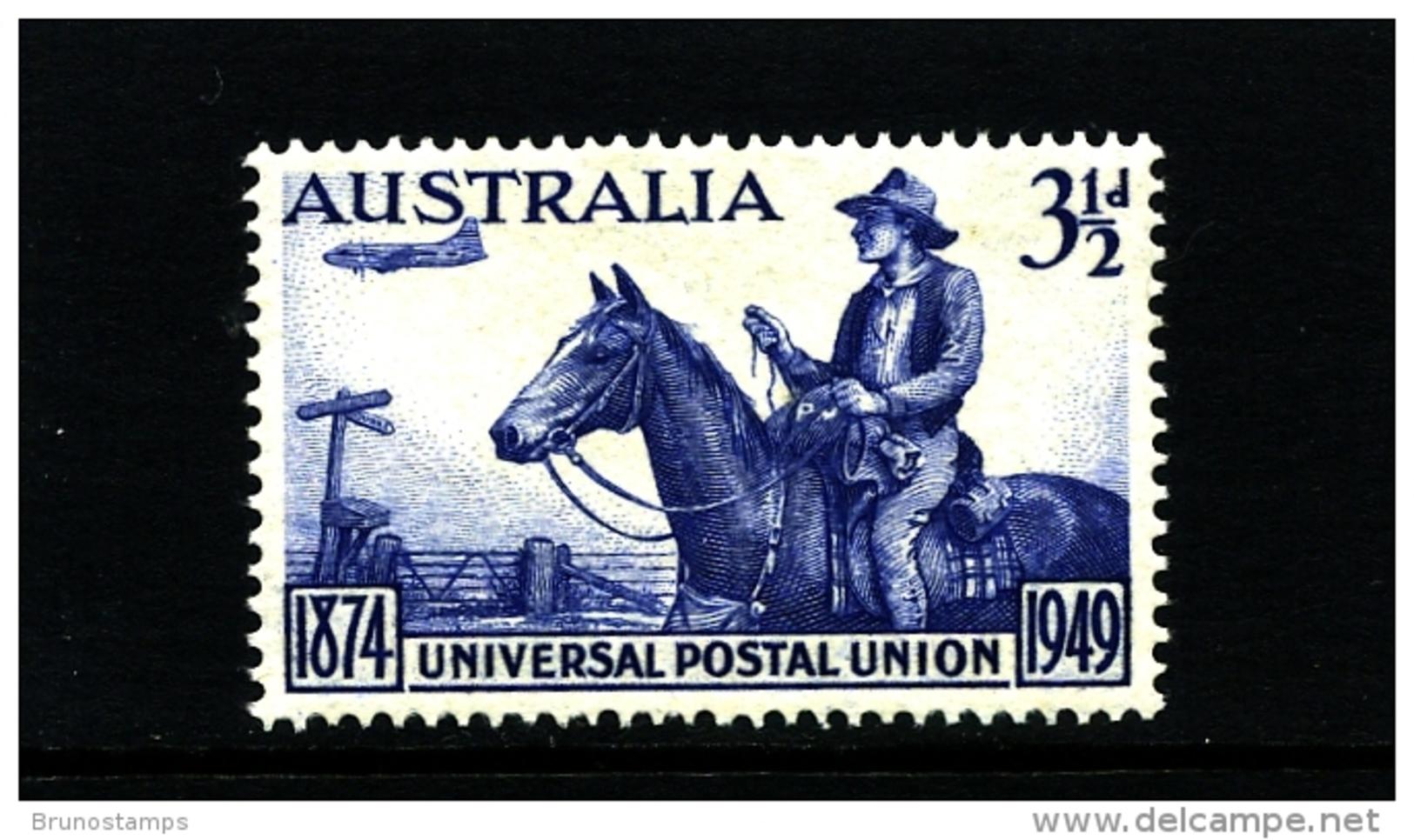 AUSTRALIA - 1949  3 1/2 D  UPU  MINT NH  SG 232 - 1937-52 George VI