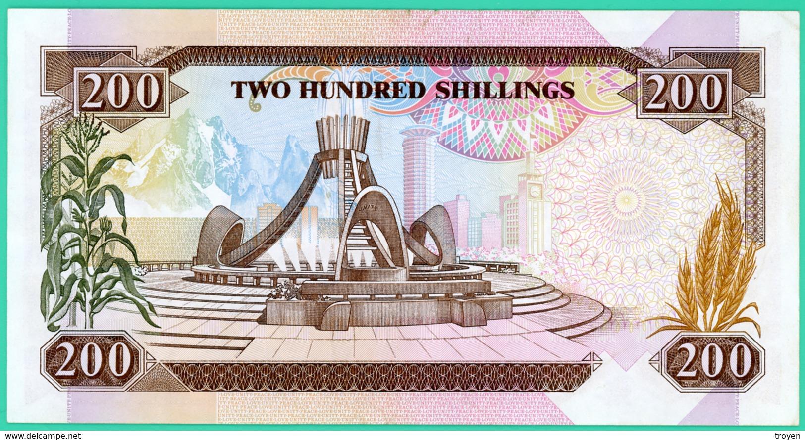 200 Shilings - Kenya - 14 Septembre 1993 - N° AJ6362162 - Sup - - Kenya