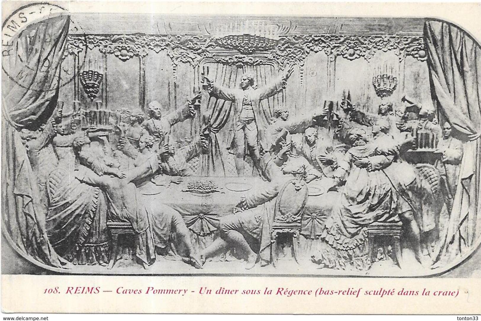 REIMS - 51 -  - Caves Pommery - Un Diner Sous La Régence  - AUT2 - - Reims