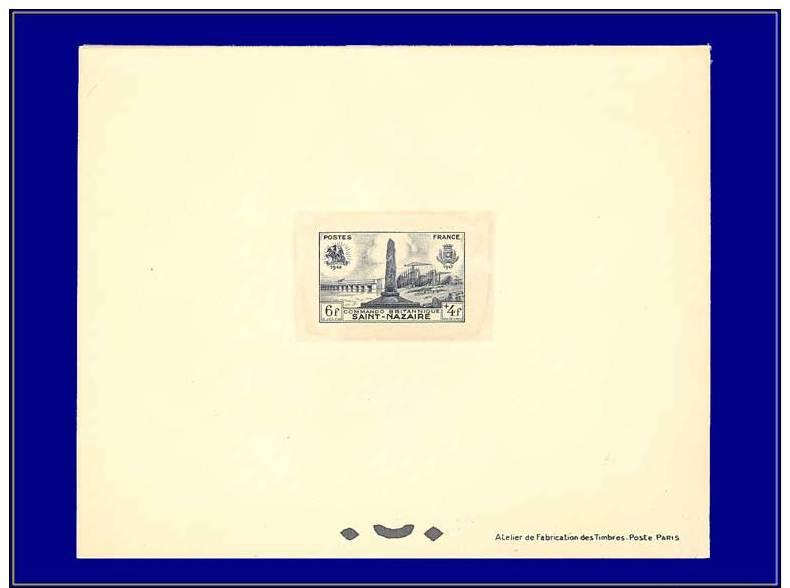Qualité: EPL – 786, 6+4f. Saint Nazaire, Débarquement. - Stamps