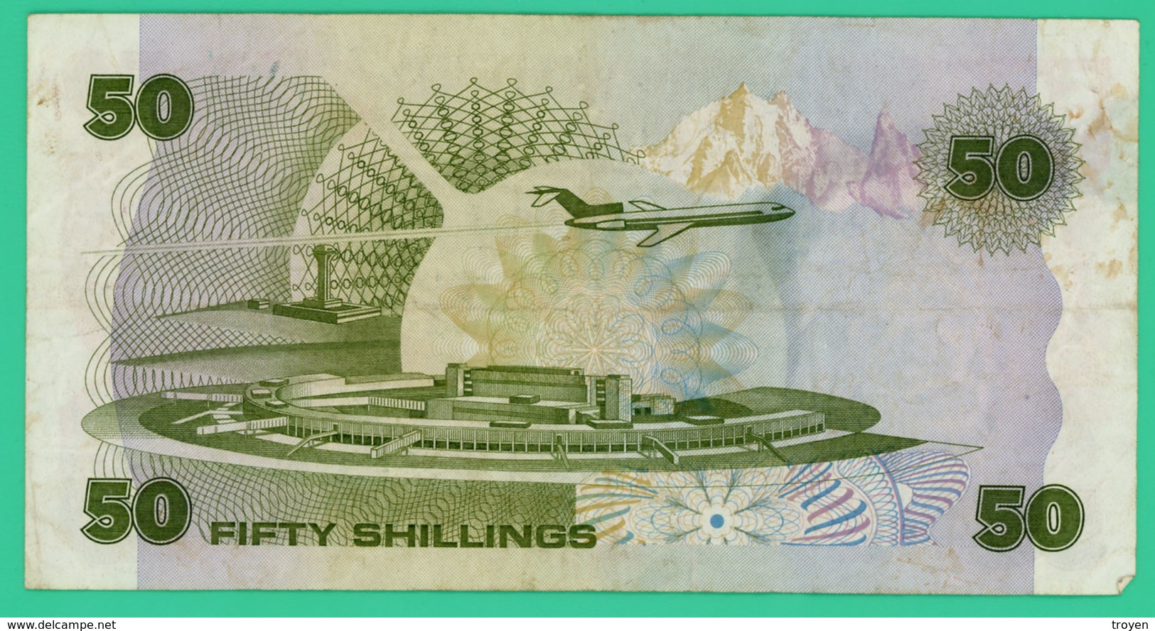 50 Shillings - Kenya - N°.D/51 762195 - 1986 - TTB - - Kenya