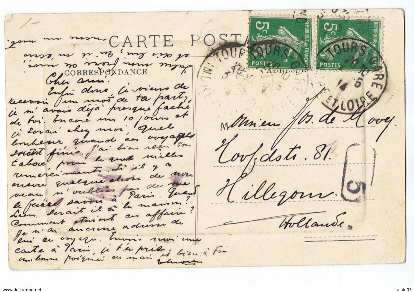 CPA - 33 - BORDEAUX - Monument Des Girondins - Les Quinconces - 1914 - Bordeaux