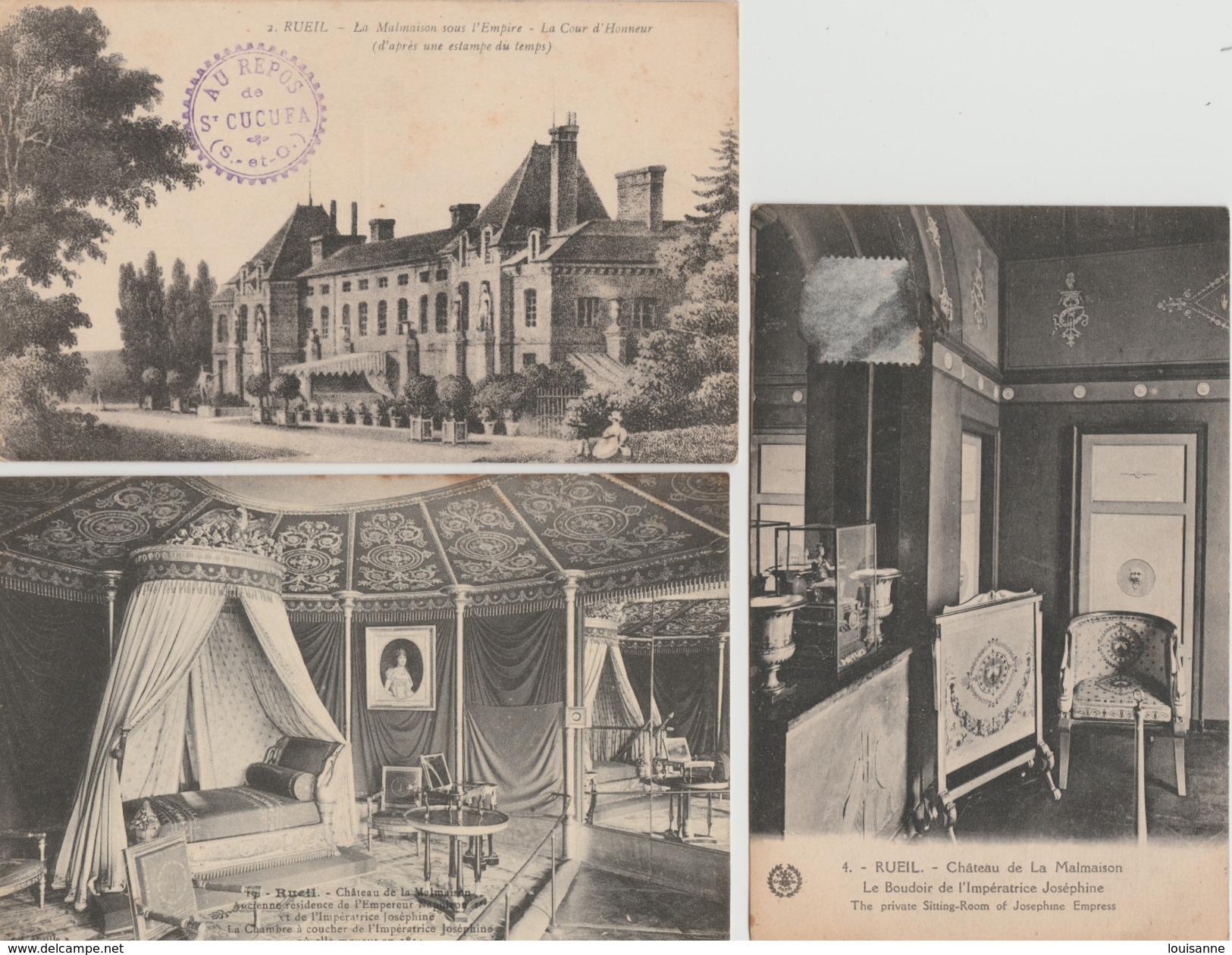 17 / 1 / 419  -    LOT  11  CPA  DE  RUEIL   -  MALMAISON  -  Toutes Scanées - 5 - 99 Postcards