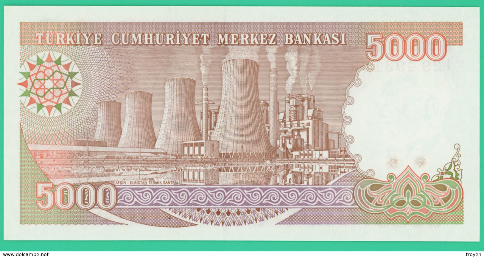 5000 Lirasi - Turquie - N° I29493168 -  Neuf - 1970 - - Turquie