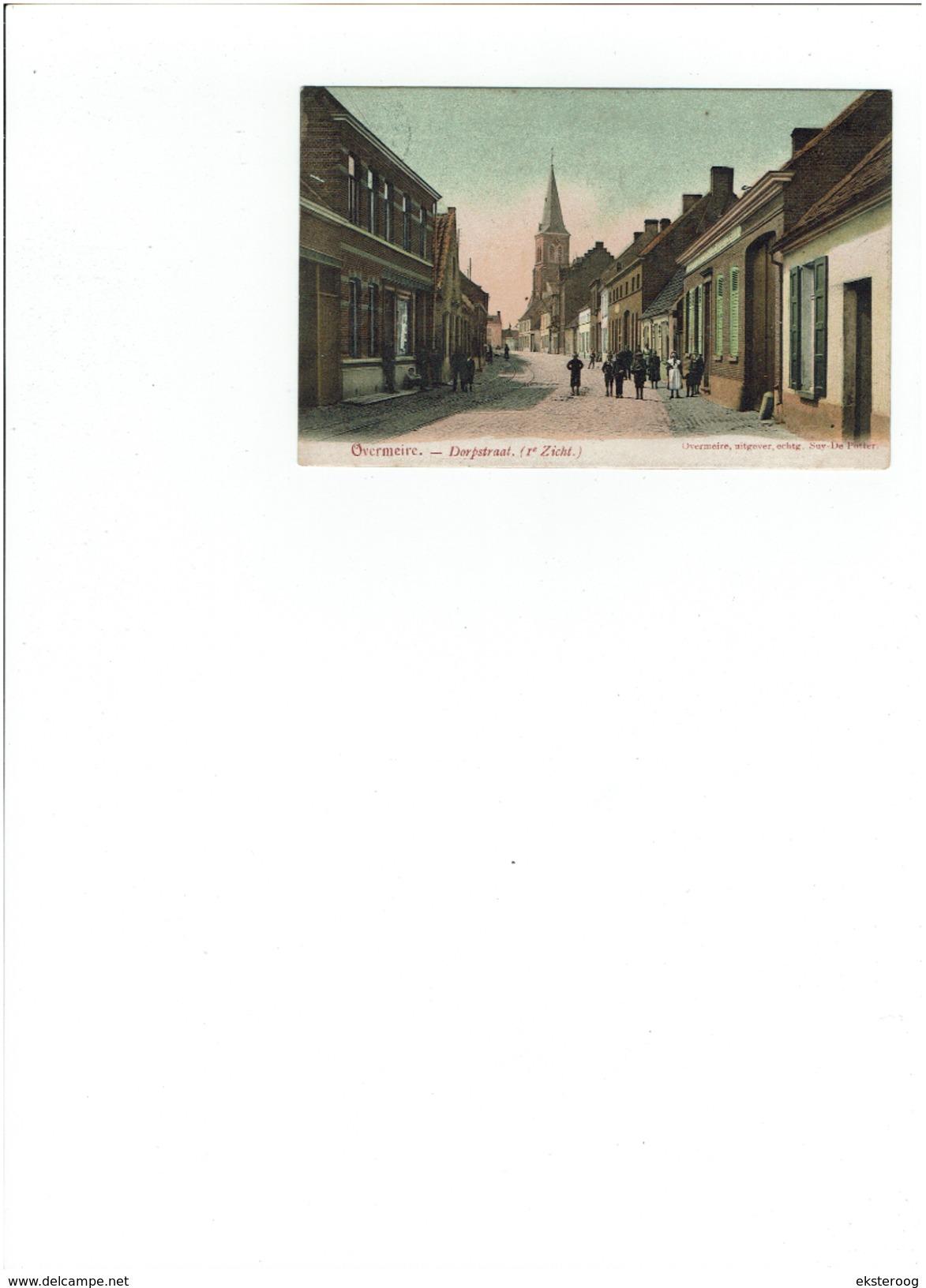 Overmeire - Dorpstraat ( 1ste Zicht) - Berlare