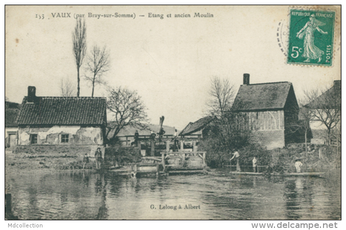 80 VAUX SUR SOMME / Etang Et Ancien Moulin / - Altri Comuni