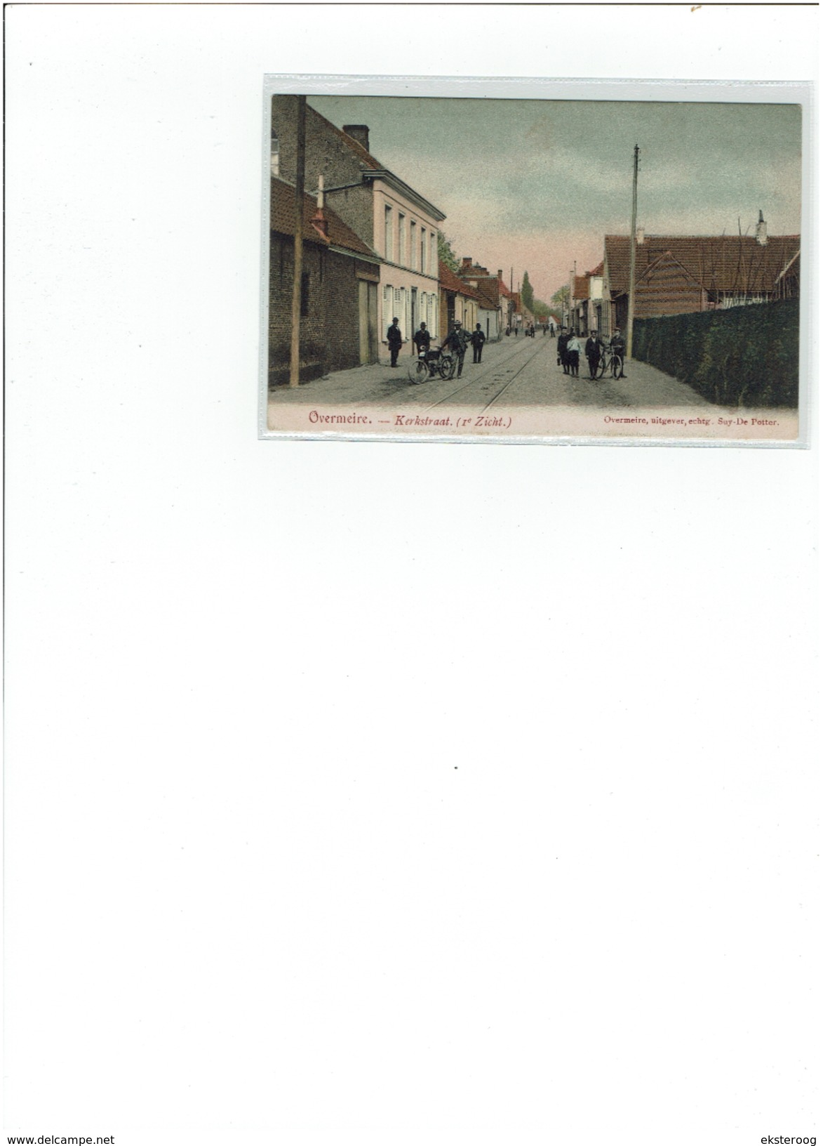 Overmeire - Kerkstraat  '( 1ste Zicht) - Berlare