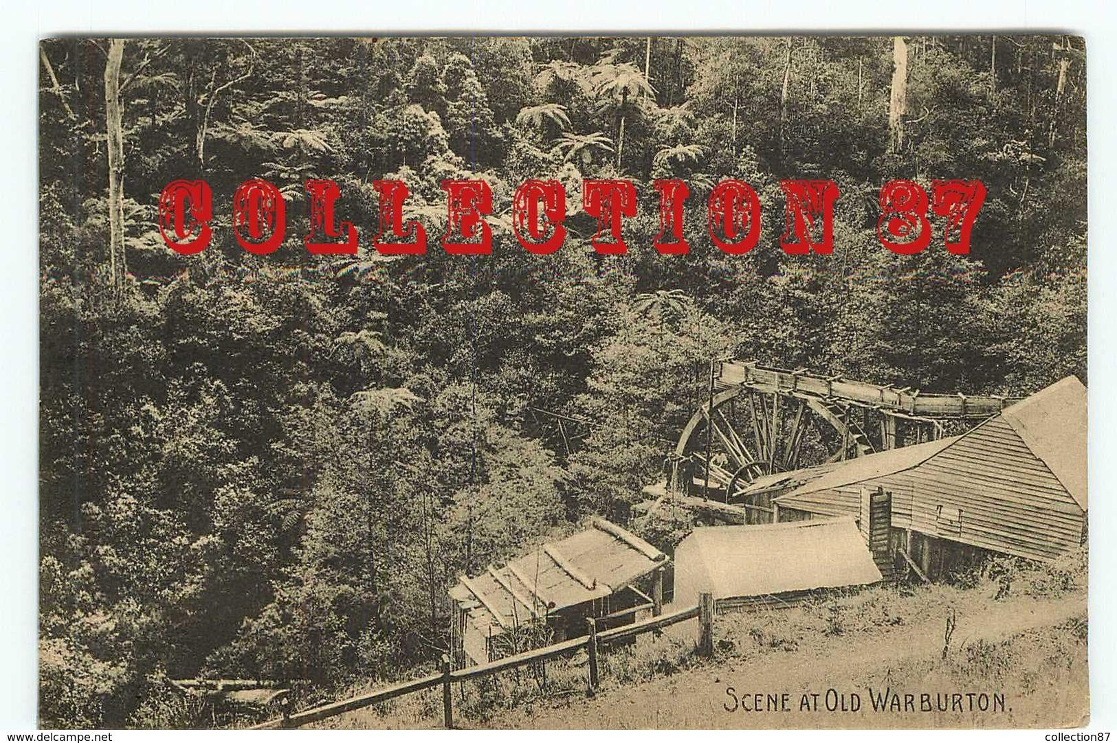 AUSTRALIA - WARBURTON - MINE D'OR < SCENE AT OLD WARBURTON - GOLD MINES - AUSTRALIE VICTORIA - Bendigo