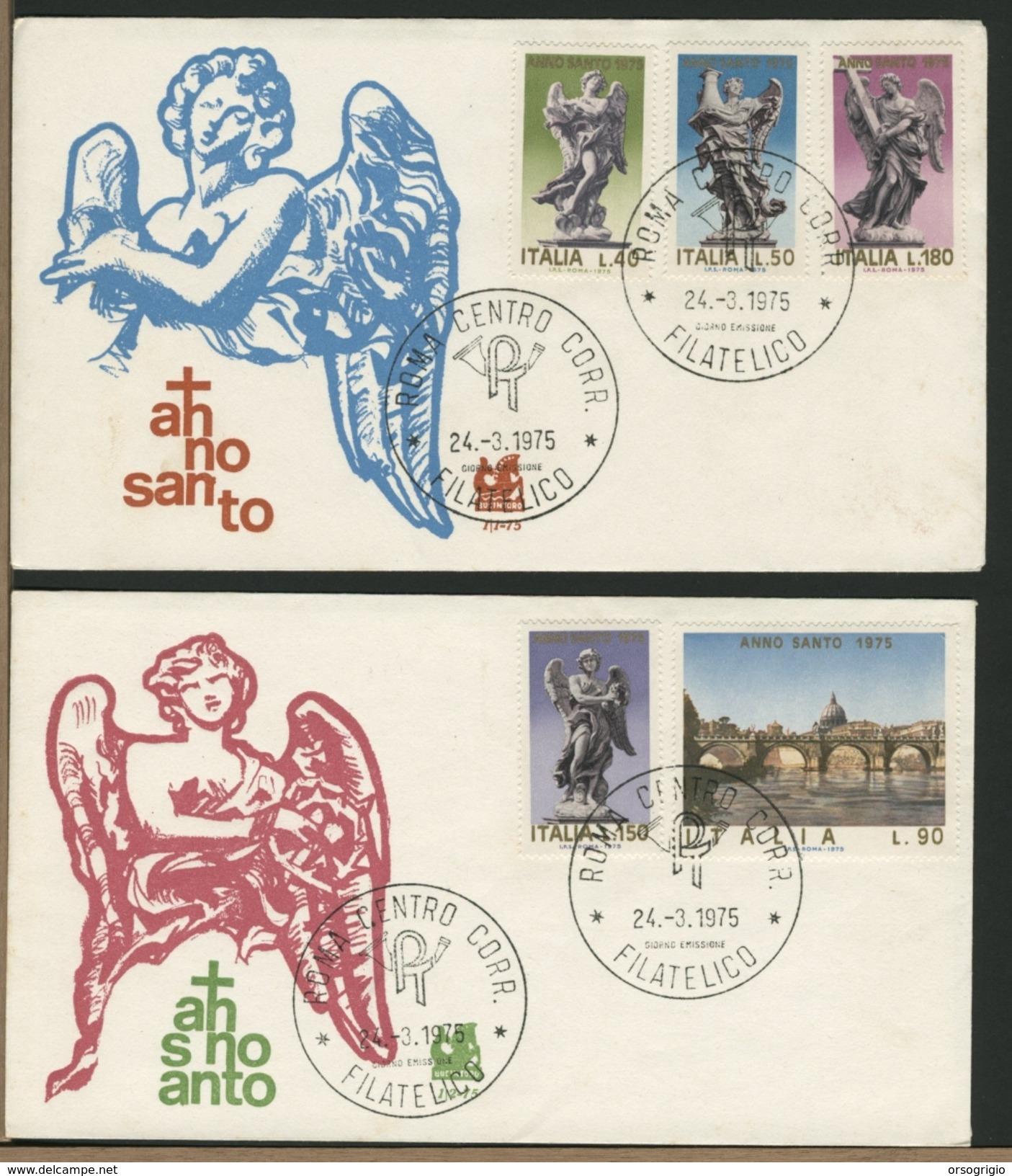ITALIA - FDC -  ANNO  SANTO  1975 - FDC