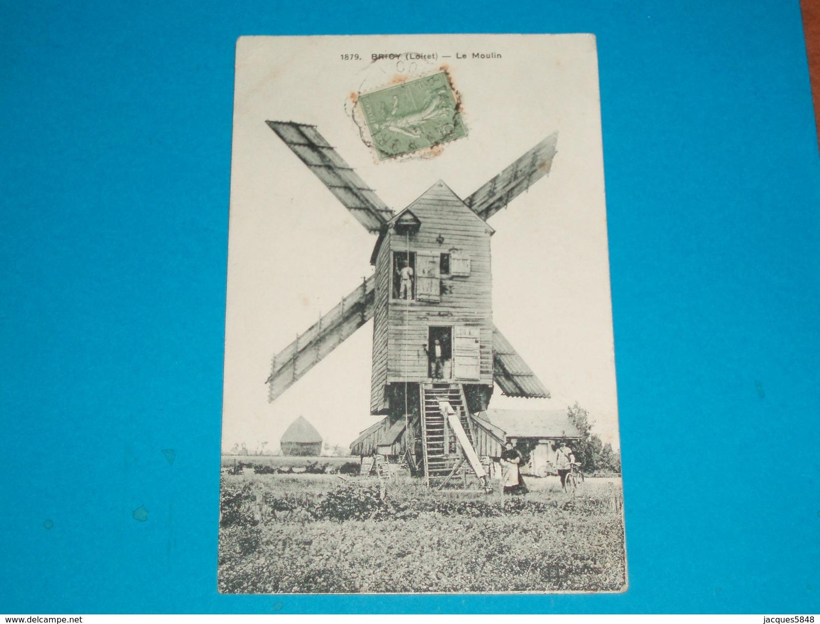 45 ) Bricy N° 1879 - Le Moulin  - Année  - EDIT : Lenormand - Autres Communes