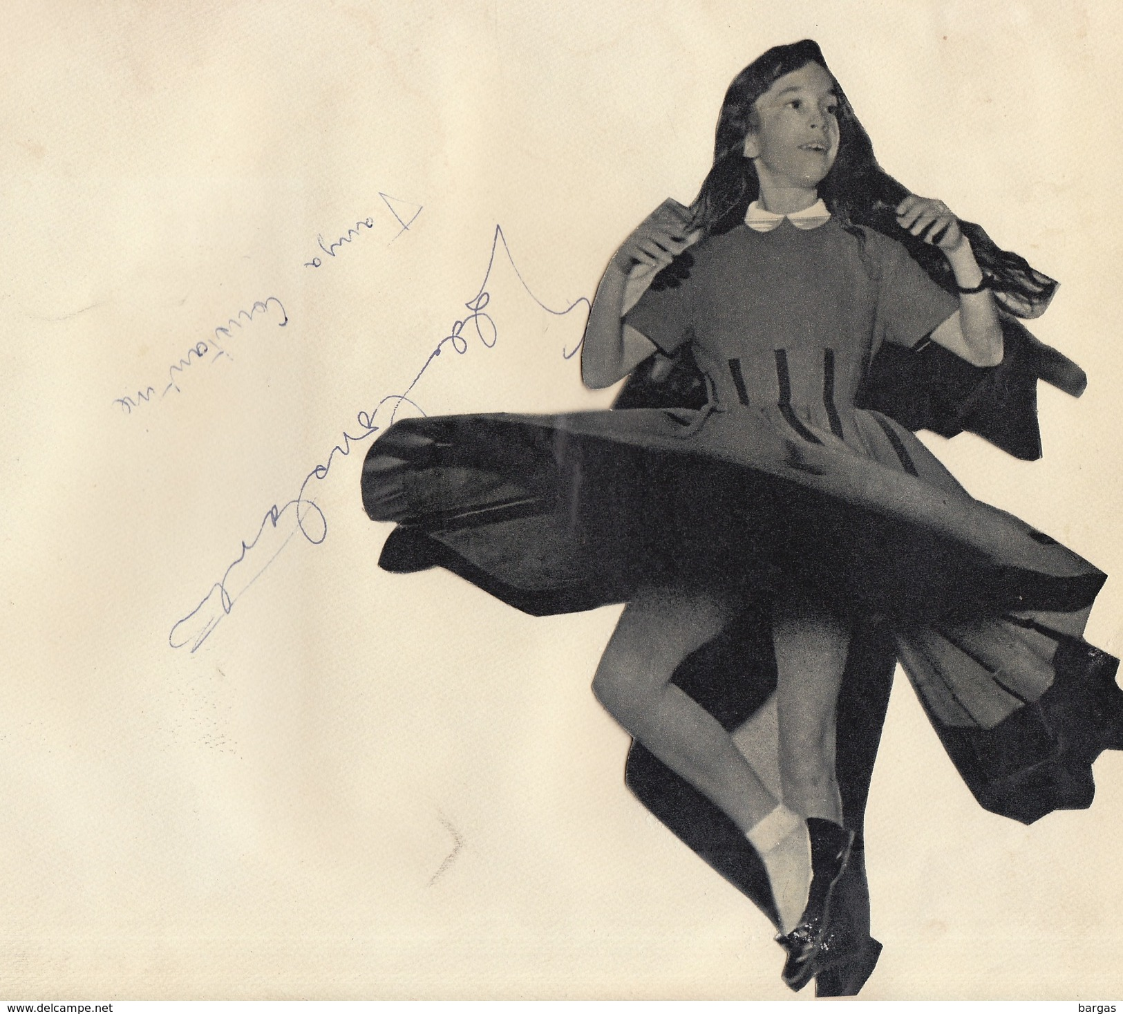 Autographe De Tanya Et Eddie Constantine - Autographs
