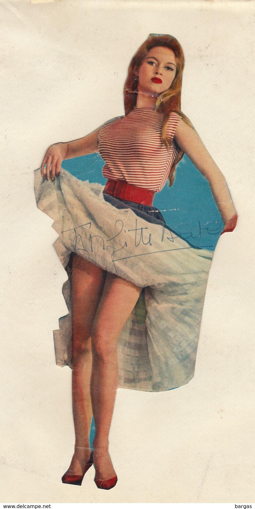 Autographe De Brigitte Bardot - Autographes