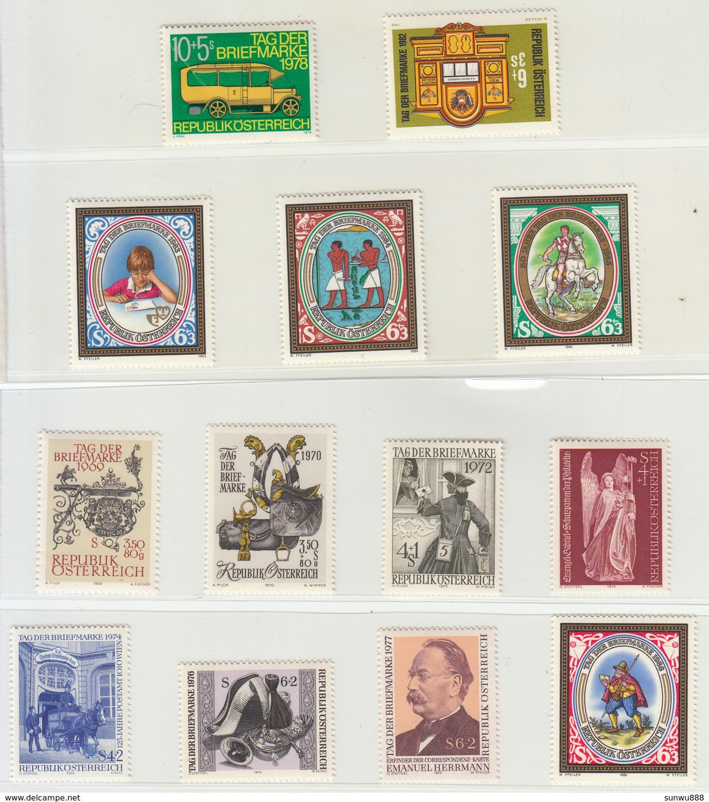 Austria - 50 Jahre Tag Der Briefmarke 50th Anniversary Of The Stamp - 1945-.... 2. Republik