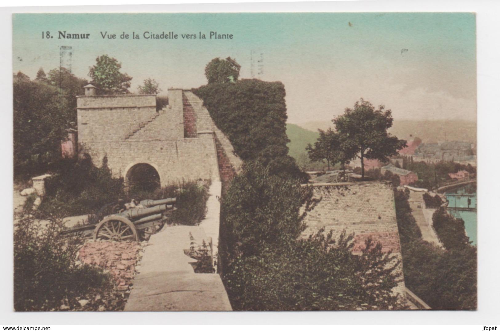 BELGIQUE - NAMUR Vue De La Citadelle Vers La Plante - Namur